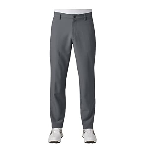 Adidas Golf 2017 Mens Ultimate + 3-Stripes Pant Trousers - Vista Grey - 30-30