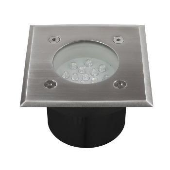 10er-Set Bodeneinbaustrahler LED 230V Terrassen- u. Gartenbeleuchtung von EU auf Lampenhans.de