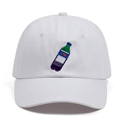 Preisvergleich Produktbild LBXZ Baseball Caps, Flasche Stickerei Papa Hut Henny Männer Frauen Einstellbare Baseballmütze Sommermode Kappenhüte