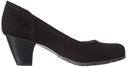 Softline22465 - Scarpe con Tacco Donna Nero (Black 001)