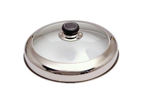 GRÄWE Glasdeckel 27 cm für Eisenpfannen
