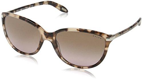 Ralph Lauren Ralph by Damen 0Ra5160 111614 57 Sonnenbrille, Rosy Tort/Brown Gradient Pink