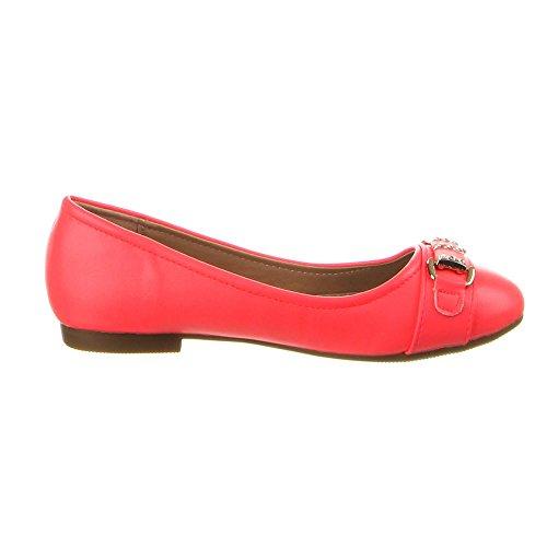 Kinder Schuhe, F-83, BALLERINAS Pink (25-30)