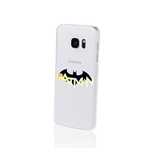 Batman Séries Étui Rigide Samsung Galaxy S7 / S7 Edge - Batman Logo et police, Samsung Galaxy S7 par  FINOO ®