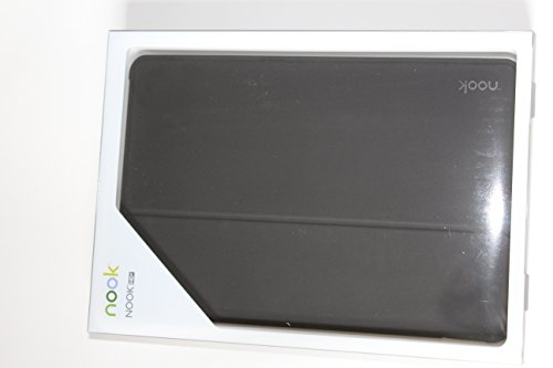 Barnes & Noble Groovy Ständer Ordner Portfolio Fall für Tablet–Schwarz (, Barnes & Noble Nook HD +, Schwarz) Barnes And Noble Nook Tablet Case