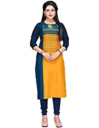 d370c90275 Ethical Fashion Multi Colour American Crepe Fully Stitched eye catching  Designer Boutique Piece Kurti For Women
