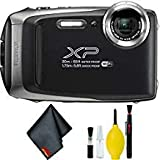 FUJIFILM FinePix XP130 Digital Camera (Silver) Basic Bundle