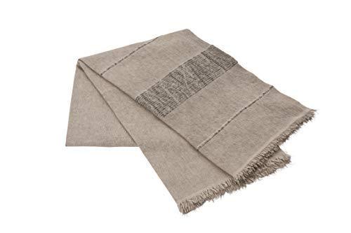 Supersofte Decke aus Einer Wollmischung in verschiedenen Farben. Maße 130x180cm Waschmaschinenfest bei 30 Grad waschbar. (Perla)