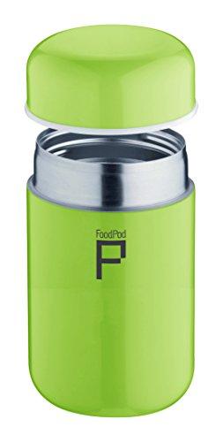 Pioneer Foodpod Thermos anti-fuites Idéal pour nourriture, Acier inoxydable, Green, 400cc