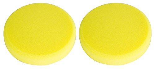 Koch Chemie 2x Schleifschwamm gelb mittelhart Polierschwamm Polierpad 160/30 mm