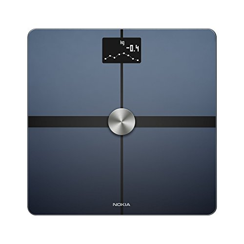Nokia Body+ – Body Composition Wi-Fi Scale, black Best Price and Cheapest