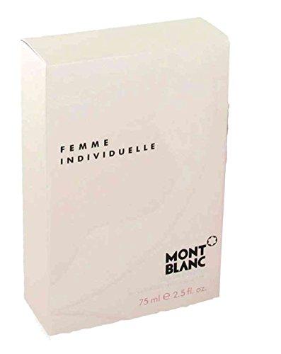 Mont Blanc Femme individuelle : 75 ml 0,1 l Eau de toilette en vaporisateur naturel