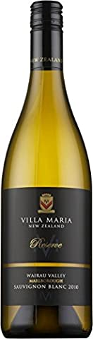 Villa Maria Reserve Wairau Valley Sauvignon Blanc New Zealand White Wine 75cl Bottle