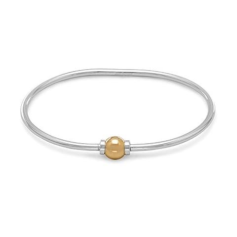 Bracelet 7.5 pouces 2 Tons pour des charmes