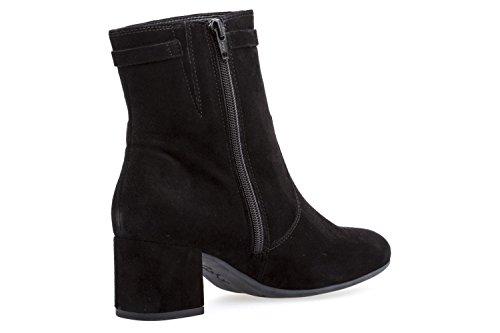 Gabor Damen Stiefeletten - Schwarz Schuhe in Übergrößen Schwarz