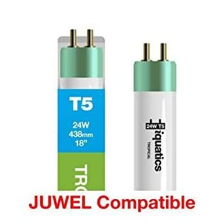 3 x iQuatics Juwel 24w Aquarium T5 Tropical- 438mm/18″ 3192XLnONEL