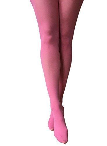 Jonathan Aston 40 denier farbige Strumpfhose-Pink-One Size (Strumpfhose Blickdichte Farbige)