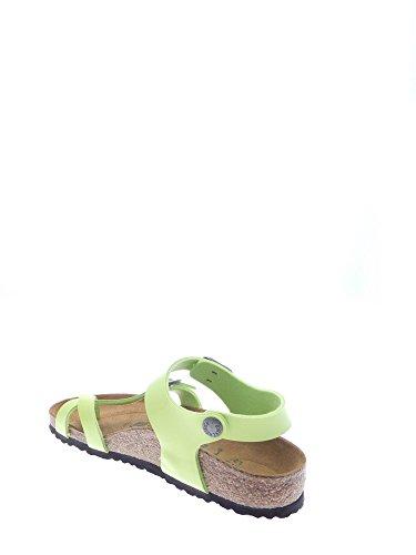 TAORMINA KINDER SANDALES BIRKENSTOCK 310 073 ROSES (24-34) Green Glow