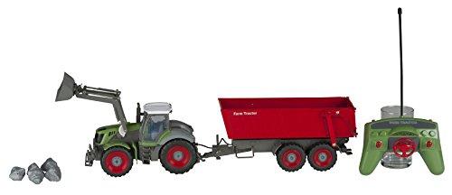 Eddy Toys 49277 - RC Traktor mit Hanger*