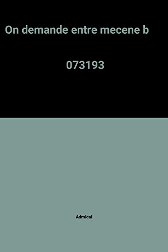 On demande entre mecene b                                                                     073193