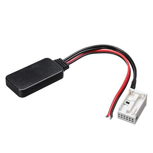 YONGYAO Adaptador Bluetooth De 12 Pines Cable Auxiliar para Peugeot Y para...