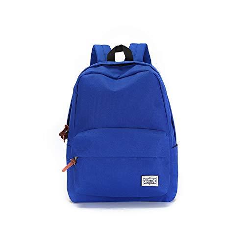 Cartable Sac à Dos Sac à Dos pour l'école, étudiant 30 * 41 * 12cm, Bleu