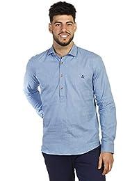 cb837fcd394ec THE TIME OF BOCHA Camisa Hombre Polera JV1POL-501