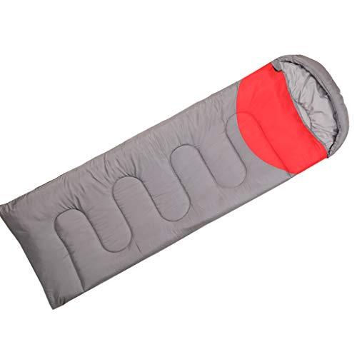 Sac de couchage LCSHAN Polyester Adulte Épais Camping Camping Chaud Résistant à l'humidité en Coton
