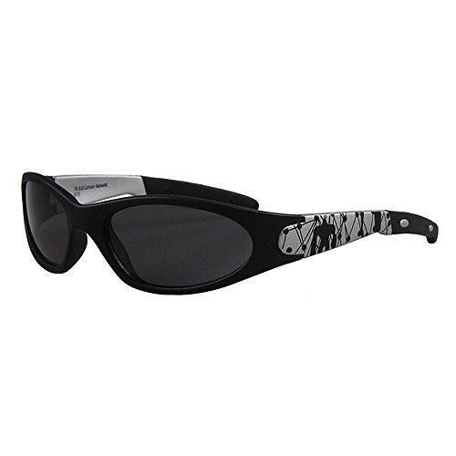 Duhongmei123 Mode Brillen Kinder Sonnenbrillen Coole Cartoon-Muster Kinder Sport Sonnenbrillen für Jungen Umwelt UV-Schutz Kinder PC Objektiv Sonnenbrille Occhiali