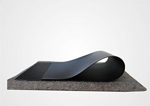 Sika Teichfolie PVC schwarz 1mm, Maß: 6,00 x 7,00 m. mit Vlies 300 gr./m² nur 5,19 € / m² Ideal für die Abdichtung von Teiche, Naturschwimmbäder und Wasserbecken