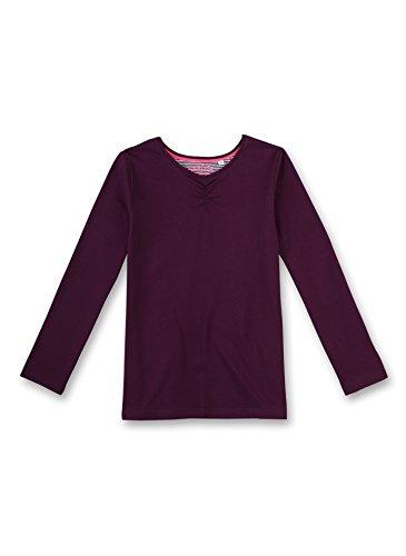 Sanetta Mädchen Schlafanzugoberteil 243847, Violett (Dark Purple 6140), 176