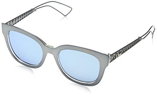 Dior Damen DIORAMA1 A4 Y1C Sonnenbrille, Blau (Ltbluee Cry/Light Blue Grey Speckled Marl), 52