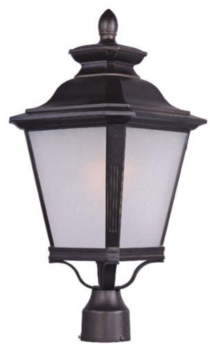 Maxim Lighting 85621 Knoxville EE Outdoor Pole/Post Mount Lantern, Bronze Finish, 11 by 22.75-Inch by Maxim Lighting -