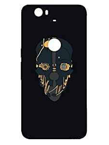 Nexus 6P Cases & Covers - Skull Art - Gothic - Designer Printed Hard Shell Case