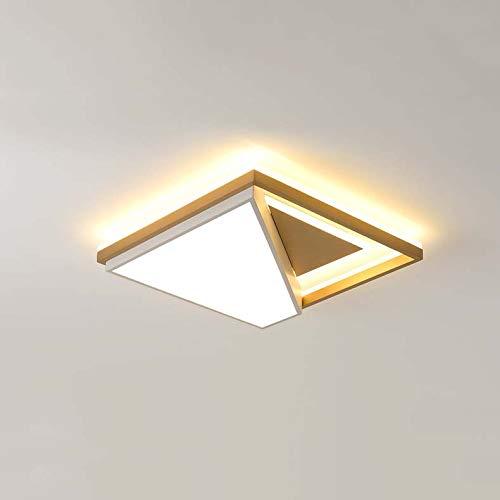 Qckdq soffitto lampade a led, paralume acrilico contemporanea, nordic moderna dimmerabile luce di soffitto, camerette per ragazzi di light lighting,b,whitelight