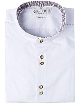 Gweih & Silk G'weih & Silk Herren Trachtenhemd Langarm Weiß Tegernsee 112271