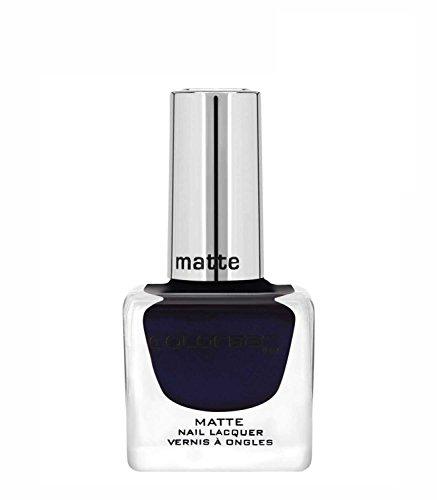 Colorbar CMN007 Matte Nail Lacquer, Blue, 12ml