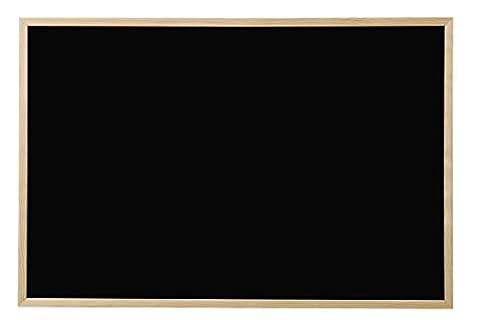 Bi-Office Basic Black Board/Chalk Board Pine Frame 90x60 cm