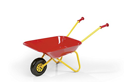 Kinderschubkarre / Schubkarre / Metallschubkarre (Auswählbar in 2 Farben) (Rot)