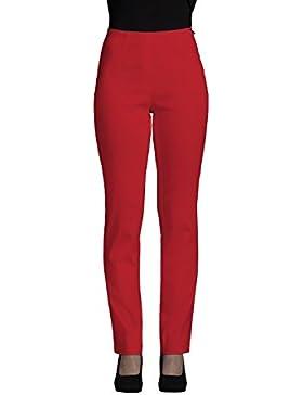 Robell - Pantalón - recta - Mujer rot(40) 50 (EU)