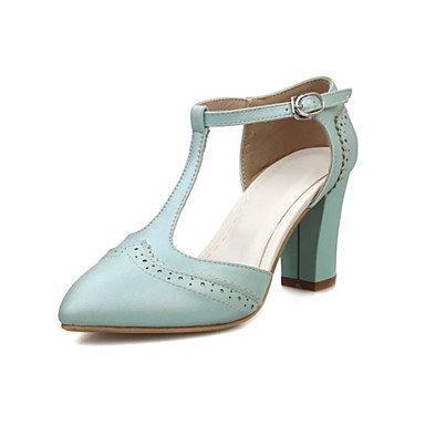 Zormey Frauen Heels Frühling Sommer Club Schuhe Formelle Schuhe Komfort Neuheit Kundenspezifischen Materialien Leatheretteoffice&Amp; Karriere Party & Amp; Abendkleid US5.5 / EU36 / UK3.5 / CN35