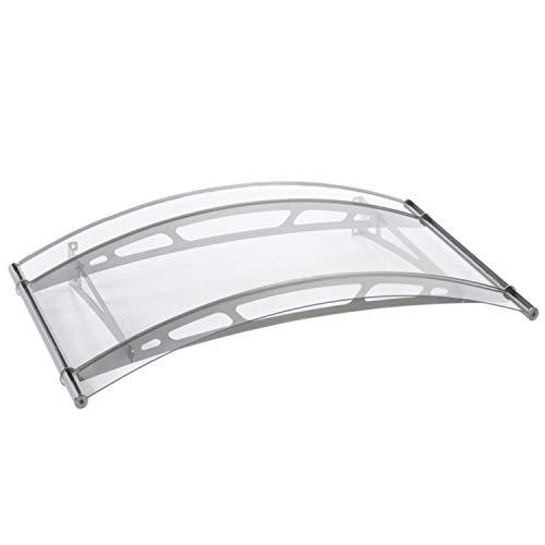 Palram Vordach, Regenschutz, Überdachung Leo 1500 klar // 148x91 cm (BxT) // Pultvordach und Türüberdachung