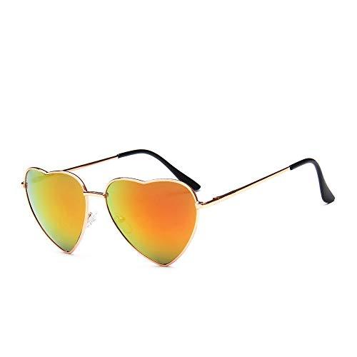 DIYOO Retro Herzform Sonnenbrille Mode Sonnenbrille Vintage Look Sonnenbrille männer Frauen Unisex Klassische Brillen rot a