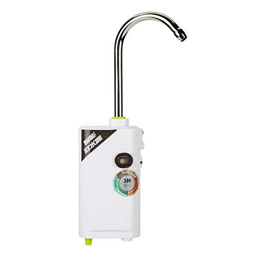 BEESCLOVER Tragbare Mini-3-in-1-Induktions-Sauerstoffpumpe zum Angeln White