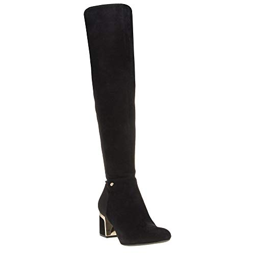 DKNY Cora Knee High Damen Stiefel Schwarz