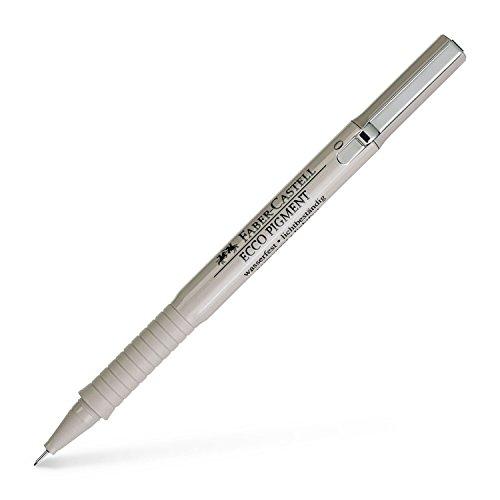Preisvergleich Produktbild Faber-Castell 166199 - Tintenschreiber Ecco Pigment,  0.1 mm,  schwarz