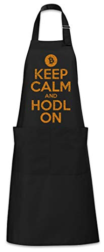 Keep Calm And HODL On Tablier De Cuisine Cuisson Gril BBQ Barbecue