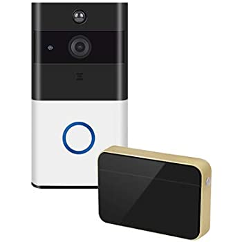 Hardware Honest Smart Wifi Doorbell Hd 720p Visual Intercom Recording Video Remote Home Monitoring Night Vision Video Door Phone New Varieties Are Introduced One After Another Door Viewers
