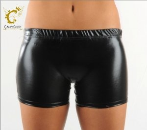 Guilty Pleasures Metallic Hot Pant Hose C/C, Größe 40-46 (EU)/6-12 ()