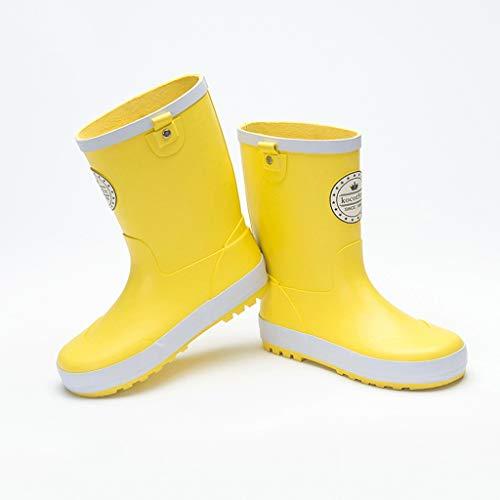 Botas de Lluvia para mujer amarillas